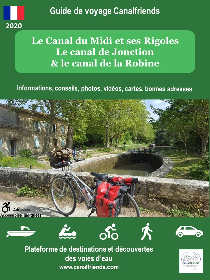 Bike and cycling, Canal du midi, garonne, canalfriends.com