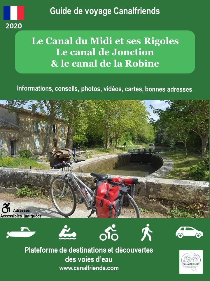Bike and cycling, Canal du midi, garonne, canalfriends.com
