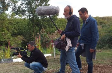 """Les coulisses du tournage des Racines et des Ailes sur le """"Pays de Garonne"""""""
