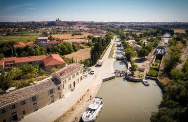 9 – Sur le Canal du Midi, prenez le temps de découvrir Béziers et ses environs
